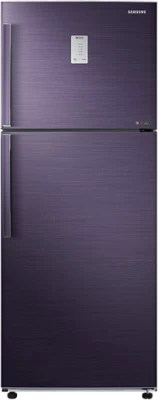 SAMSUNG 462 L Frost Free Double Door Refrigerator(RT47H537EUT, Pebble Blue)