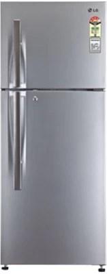 LG 310 L Frost Free Double Door Refrigerator(GL-M322RLTL, Nobel Steel)