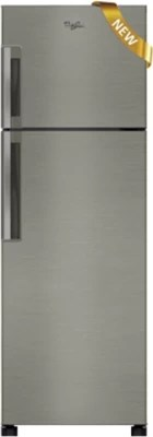 Whirlpool 292 L Frost Free Double Door Refrigerator(NEO FR305 ROY PLUS 3S, Alpha Steel, 2016)