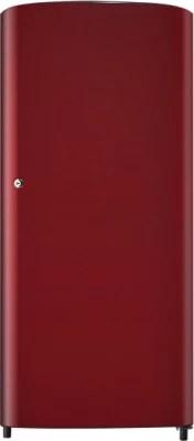 SAMSUNG 192 L Direct Cool Single Door Refrigerator(RR19J20A3RH, Scarlet Red)