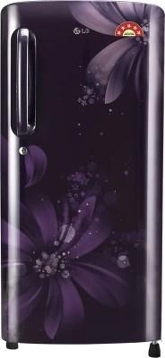 LG 215 L Direct Cool Single Door Refrigerator(GL-B221APAN, Purple Aster, 2016)