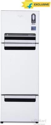 Whirlpool 240 L Frost Free Triple Door Refrigerator(FP 263D PROTTON ROY, Mirror White (N), 2016)