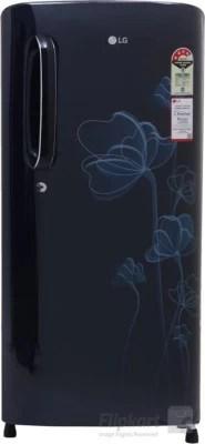 LG 190 L Direct Cool Single Door Refrigerator(GL-B201AMHL, Marine Heart, 2016)