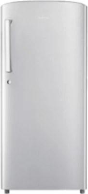 SAMSUNG 192 L Direct Cool Single Door Refrigerator(RR19K111ZSE/HL, Elective Silver)