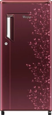 Whirlpool 185 L Direct Cool Single Door Refrigerator(200 IM POWERCOOL PRM 4S, Wine Imperia)