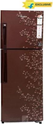Whirlpool 265 L Frost Free Double Door Refrigerator(NEO FR278 ROY PLUS 3S, Wine Gloria, 2016)