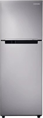 SAMSUNG 253 L Frost Free Double Door Refrigerator(RT28K3043S8, Elegant Inox, 2016)