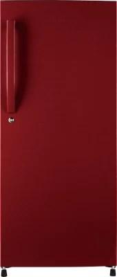 Haier 195 L Direct Cool Single Door Refrigerator(HRD-2157BR-R, Red Vivid)