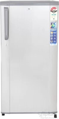Haier 181 L Direct Cool Single Door Refrigerator(HRD-2015CBS-H, Brushline Silver, 2016)