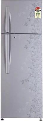 LG 310 L Frost Free Double Door Refrigerator(GL-D322RPJL, Silk Gardenia)