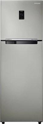 SAMSUNG 345 L Frost Free Double Door Refrigerator(RT36JSRZESP, Platinum Inox)
