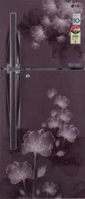 LG 308 L Frost Free Double Door Refrigerator(GL-I322RGFL, Graphite Florid)
