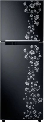 SAMSUNG 253 L Frost Free Double Door Refrigerator(RT27JARMABX/TL, Orcherry Pearl Black)