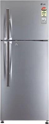LG 285 L Frost Free Double Door Refrigerator(GL-M302RLTL, Platinum Silver)