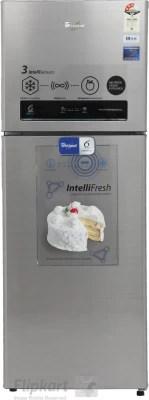 Whirlpool 360 L Frost Free Double Door Refrigerator(375 ELT 3S, Alpha Steel)