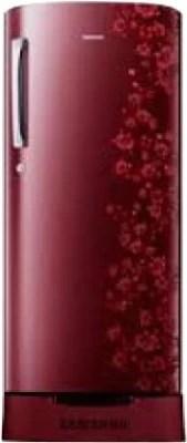 SAMSUNG 192 L Direct Cool Single Door Refrigerator(RR19H10C3RH/TL, Scarlet Red)