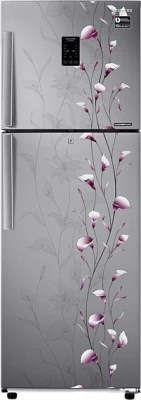 SAMSUNG 253 L Frost Free Double Door Refrigerator(RT28K3953S, Tender Lily Silver)
