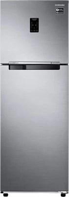 SAMSUNG 321 L Frost Free Double Door Refrigerator(RT34K3753SP, Platinum Inox)