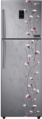 SAMSUNG 345 L Frost Free Double Door Refrigerator(RT36JSMFESZ, Tender Lily Silver)