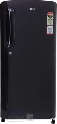 LG 190 L Direct Cool Single Door Refrigerator(GL-B201APRL, Purple Royal, 2016)