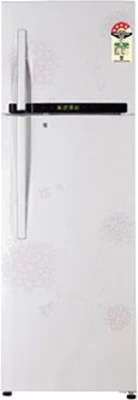 LG 360 L Frost Free Double Door Refrigerator(GL-D402RPHM(BW), Bouquet White)