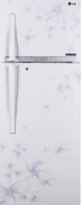 LG 335 L Frost Free Double Door Refrigerator(GL-U372HDWL, Daffodil White, 2016)