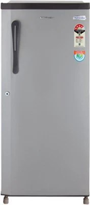 Kelvinator 190 L Direct Cool Single Door Refrigerator(KS203E, Silky Grey)