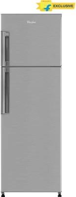 Whirlpool 265 L Frost Free Double Door Refrigerator(Neo FR278 PRM, Nova Steel)