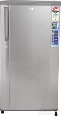 Haier 170 L Direct Cool Single Door Refrigerator(HRD-1905CBS-H, Brushline Silver, 2016)
