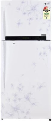 LG 470 L Frost Free Double Door Refrigerator(GL-M522GDWL, Daffodil White)