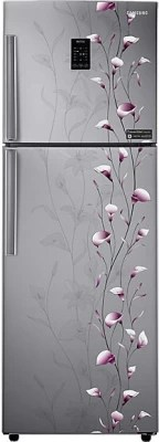 SAMSUNG 321 L Frost Free Double Door Refrigerator(RT33JSMFESZ/TL, Tender Lily Silver)