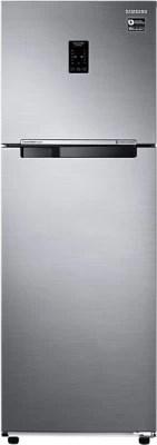 SAMSUNG 345 L Frost Free Double Door Refrigerator(RT37K3763SP, Platinum Inox)