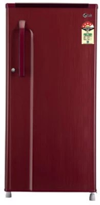 LG 190 L Direct Cool Single Door Refrigerator(GL-205KMGE4, Burgundy Blaze)
