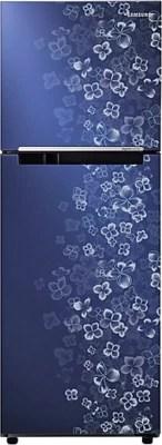 SAMSUNG 253 L Frost Free Double Door Refrigerator(RT27JARMAVL/TL, Lilac Steel Violet)