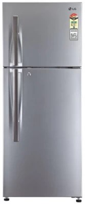 LG 258 L Frost Free Double Door Refrigerator(GLM292RPZL, Shiny Steel)
