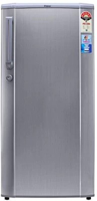 Haier 190 L Direct Cool Single Door Refrigerator(HRD-2105CS -H, Hairline Silver)