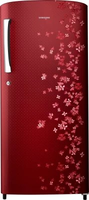 SAMSUNG 192 L Direct Cool Single Door Refrigerator(RR19H1747RY, Sanganeri Ring Red)