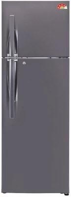 LG 360 L Frost Free Double Door Refrigerator(GL-I402RTNL, Titanium, 2016)