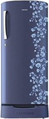 SAMSUNG 192 L Direct Cool Single Door Refrigerator(RR19H1825PX/TL, Orcherry Pebble Blue)