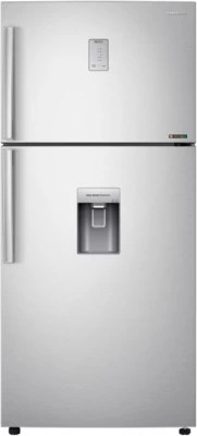 SAMSUNG 528 L Frost Free Double Door Refrigerator(RT54H667ESL, Clean Steel, Silver)