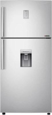 SAMSUNG 528 L Frost Free Double Door Refrigerator(RT54H667ESL, Clean Steel, Silver)