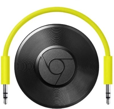 Google Chromecast Audio Media Streaming Device(Black)