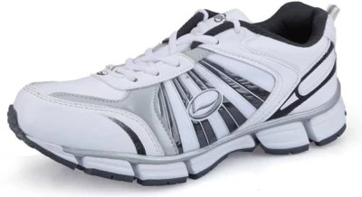 Lancer Fj-1401 White & Grey Running Shoes(White, Grey)