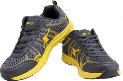 Sparx Revolution Grey & Yellow Running Shoes(Grey, Yellow)
