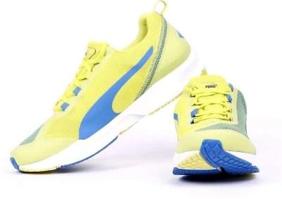 Puma IGNITE XT Men'S Running Shoes(Yellow)