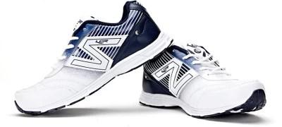 Lancer Adelaide White & LightGrey Running Shoes(White)