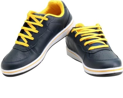 Sparx Trendy NavyBlue & Yellow Running Shoes(Navy, Yellow)