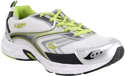 Lancer Running Shoes(White, Green)