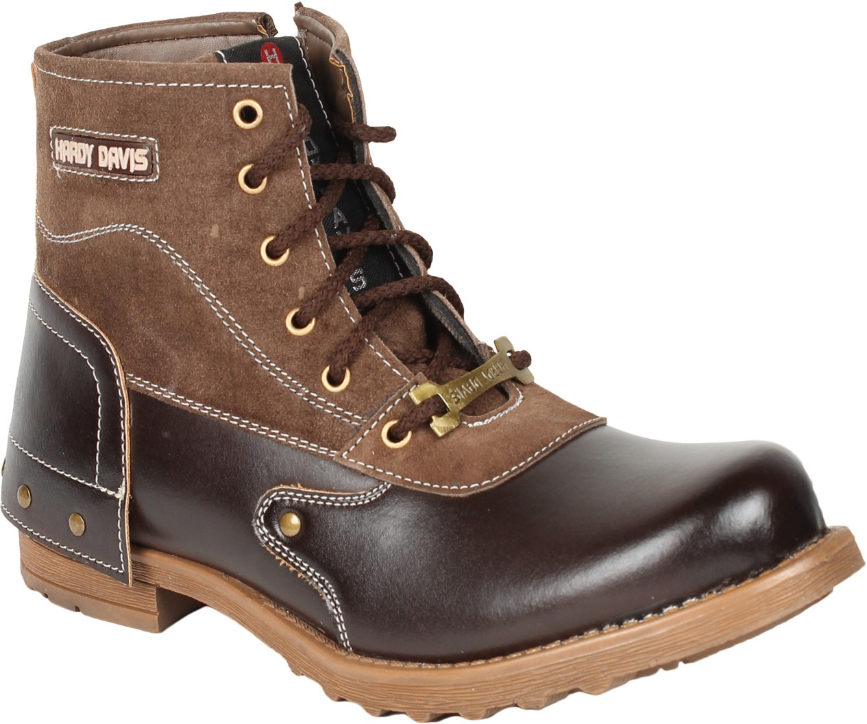 Histeria BK1019COBOOT2285_Brown Boots(Brown)