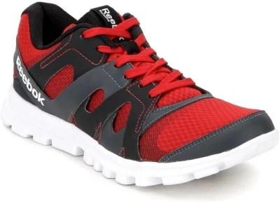 Reebok Running Shoes(Red, Black)